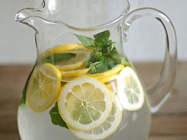 Water And Lemon Liquid