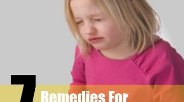 stomach pain for kids