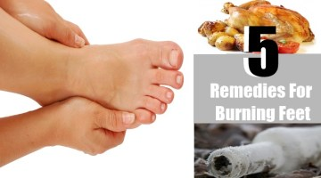 5 Remedies For Burning Feet
