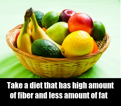 eat fibrous foods
