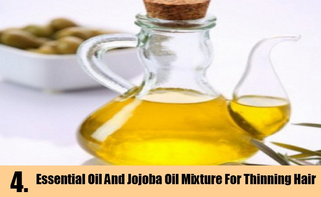 Essential Oil And Jojoba Oil Mixture