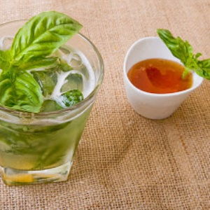 Basil Leaf Juice And Honey