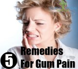 5 Remedies For Gum Pain
