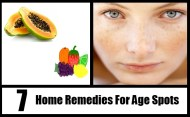 7 Excellent Home Remedies For Age Spots