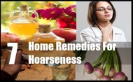7 Home Remedies For Hoarseness