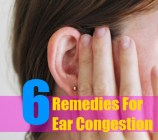 6 Remedies For Ear Congestion