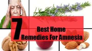 7 Best Home Remedies For Amnesia