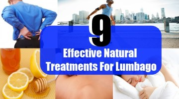 9 Effective Natural Treatments For Lumbago