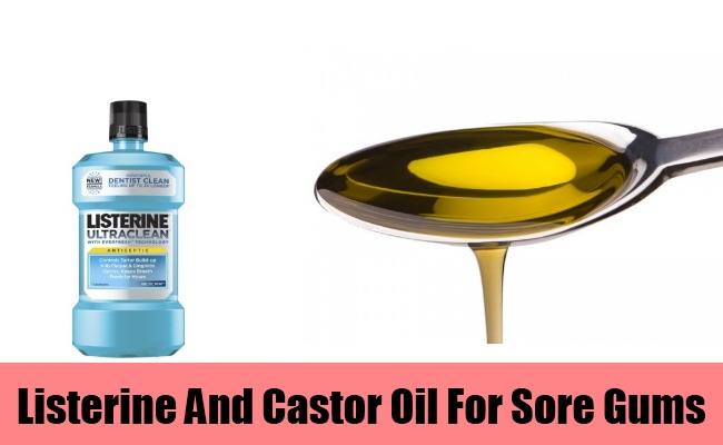 Listerine And Castor Oil