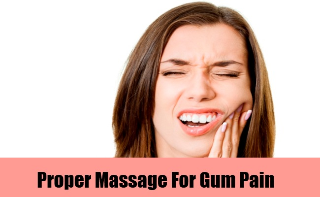 Proper Massage Of Gums