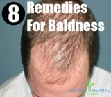 8 Remedies For Baldness