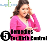 5 Remedies For Birth Control