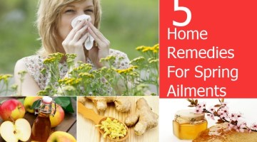Home Remedies For Spring Ailments