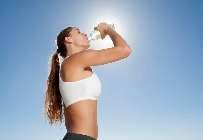 increase the intake of fluids