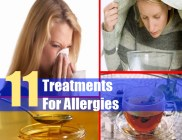 11 Treatments For Allergies