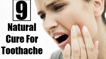 Top Natural Cure For Toothache