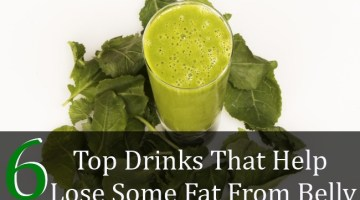 Top 6 Drinks That Help Lose Some Fat From Belly
