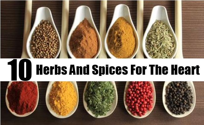 Herbs And Spices For The Heart