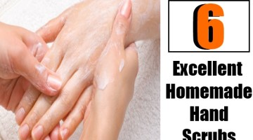 6 Excellent Homemade Hand Scrubs