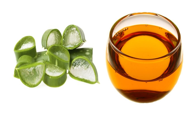 Aloe Vera Gel And Wheat Germ Oil