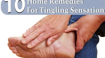 Home Remedies For Tingling Sensation