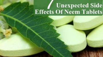 Unexpected Side Effects Of Neem Tablets