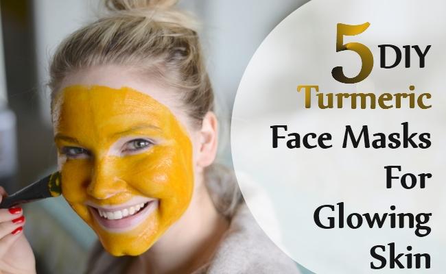 DIY Turmeric Face Masks For Glowing Skin