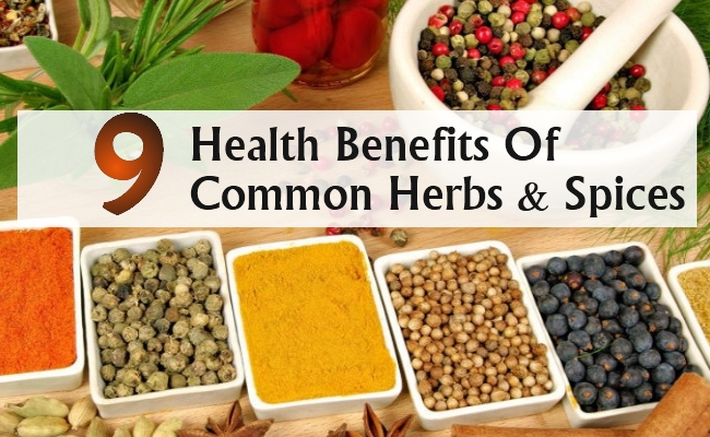 Health Benefits Of Common Herbs And Spices