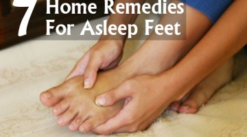 Home Remedies For Asleep Feet