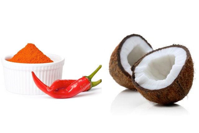 Cayenne Coconut Soothing Oil