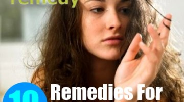 10 Home Remedies For Frizzy Hair