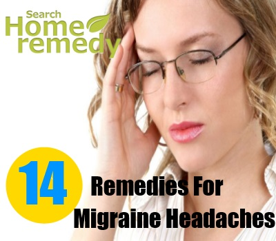 14 Home Remedies For Migraine Headache