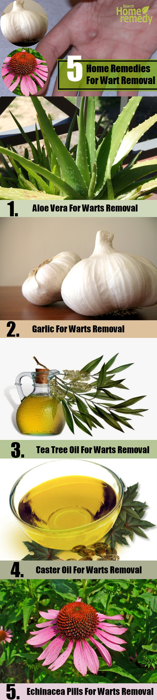 5 Home Remedies For Wart Removal