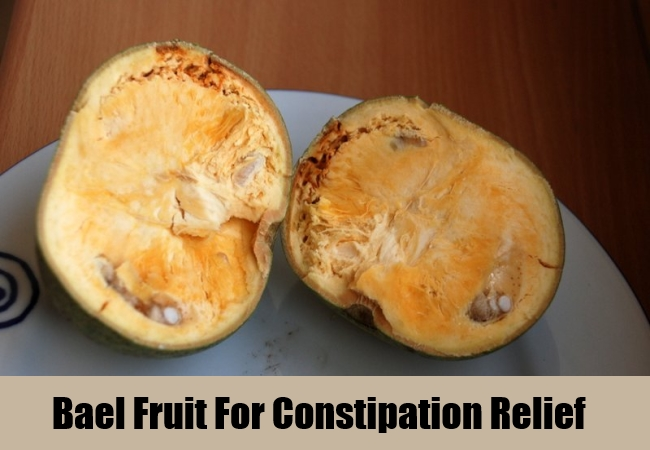 Bael Fruit For Constipation Relief