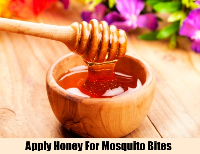 Apply Honey For Mosquito Bites