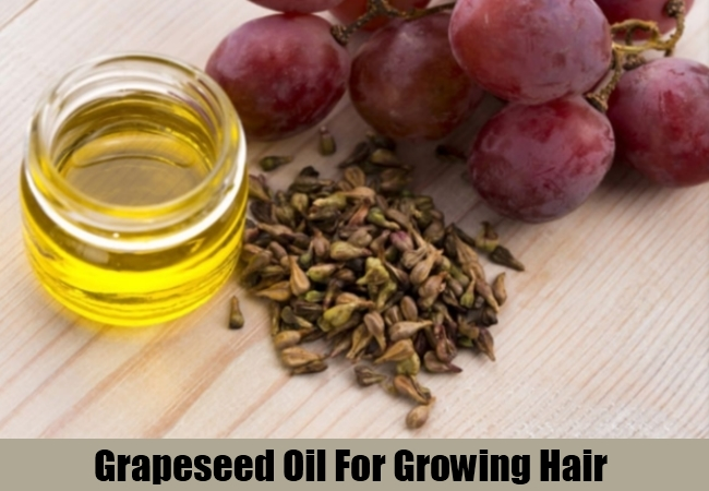Grapeseed Oil For Growing Hair