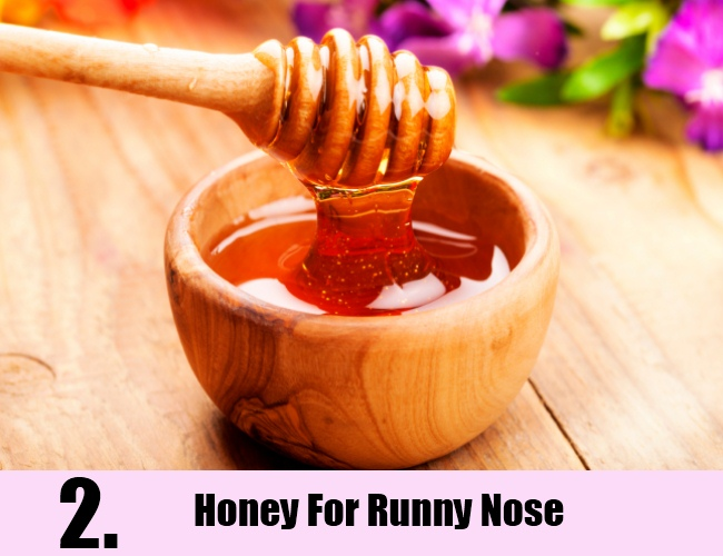 Honey For Runny Nose