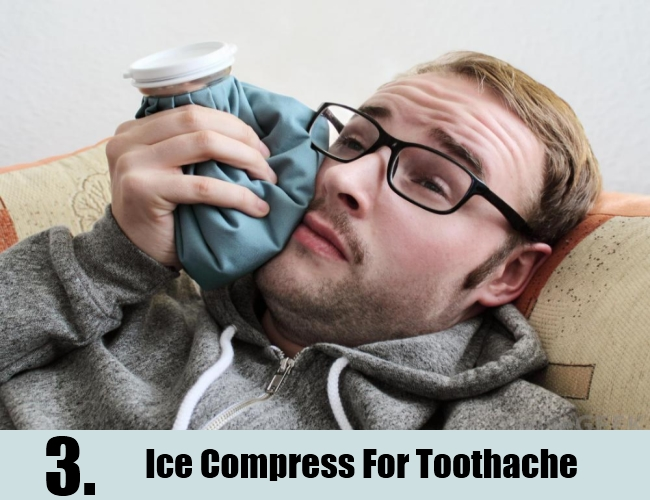 Ice Compress For Toothache