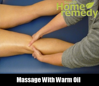 MAssage With Warm Oil
