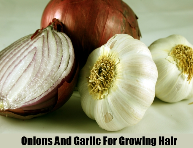 Onions And Garlic For Growing Hair