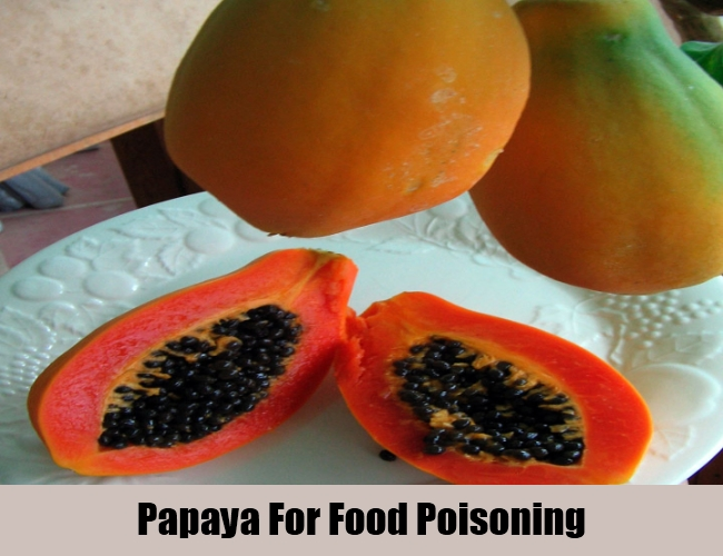 Papaya For Food Poisoning