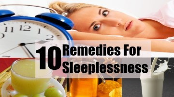 10 Home Remedies For Sleeplessness