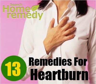 13 Home Remedies For Heartburns