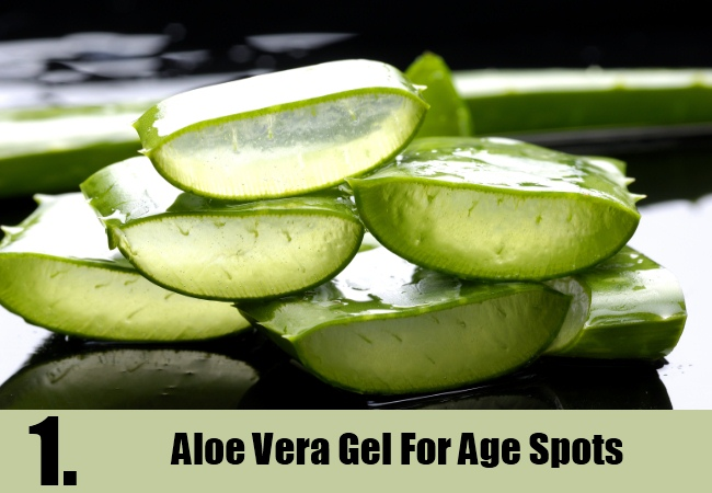 Aloe Vera Gel For Age Spots