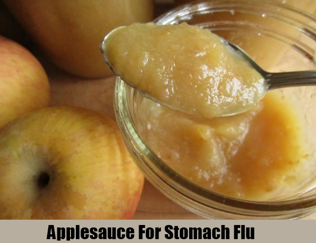 Applesauce For Stomach Flu