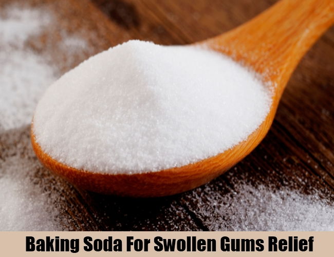 Baking Soda For Swollen Gums Relief