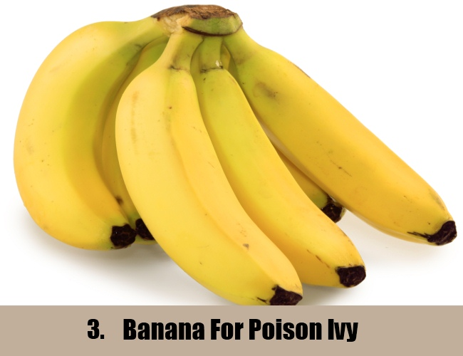 Banana For Poison Ivy