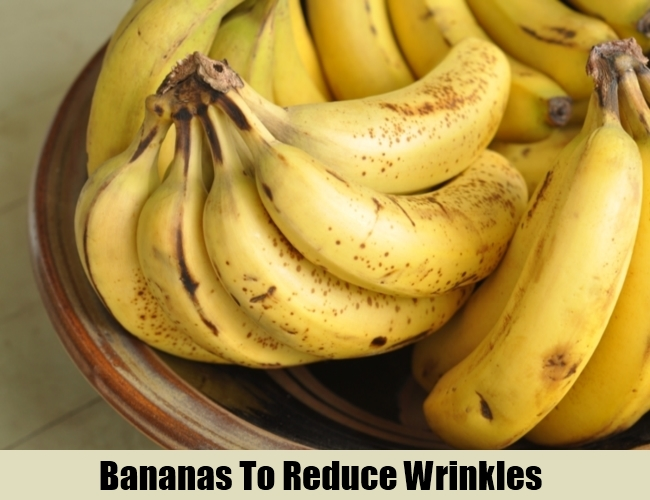 Banana To Reduce Wrinkles