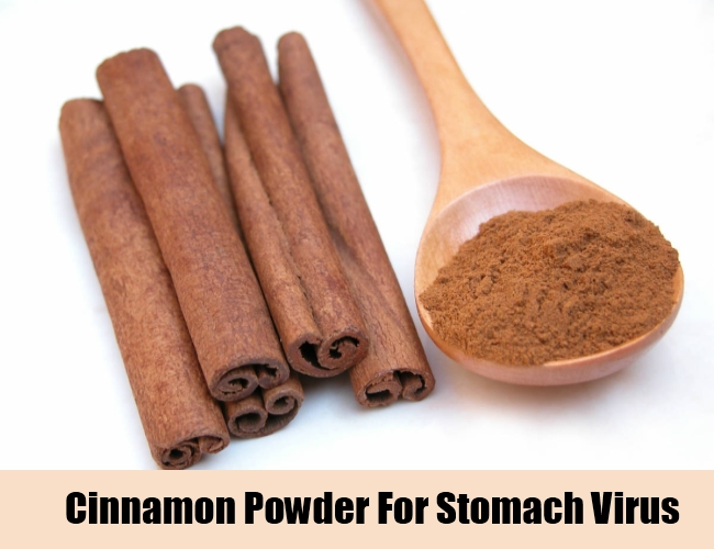 Cinnamon Powder For Stomach Virus
