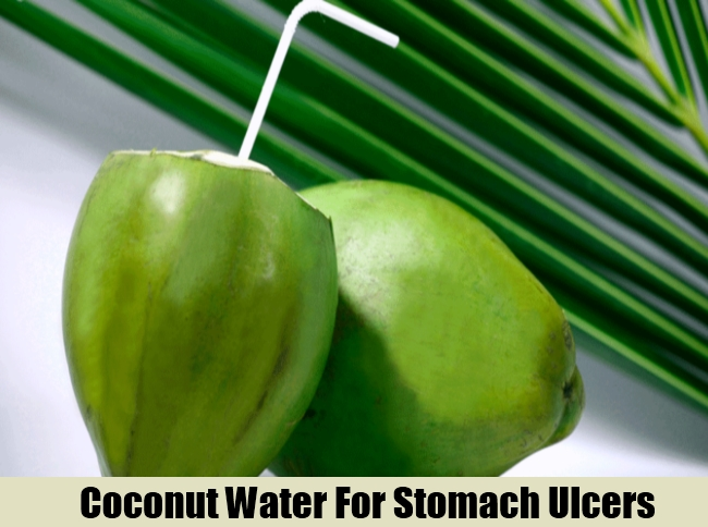 Coconut Water For Stomach Ulcers